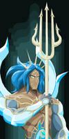 Gods of Olympus - Poseidon by Tyrranux
