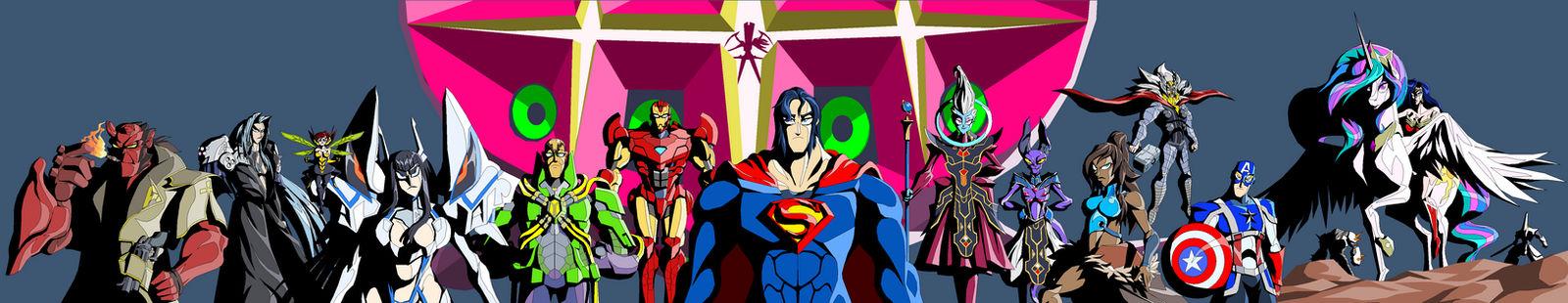 Fan Fiction Fuel - Super Avengers
