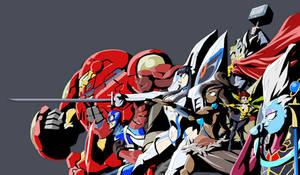 Fan Fiction Fuel - White Queen's Avengers by Tyrranux
