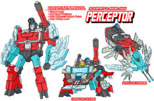 Autobot Perceptor by Tyrranux