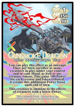 Titan Clash Gunsmoke Dragon