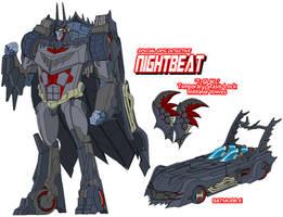 Autobot Nightbeat by Tyrranux
