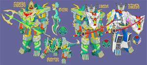 Dragontech Megazord