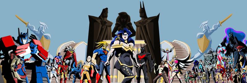 Fan Fiction Fuel - Justice League 20XX