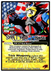 Titan Clash SWAT Kat T-Bone