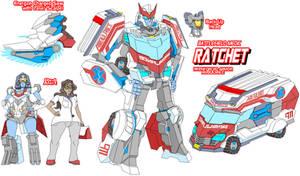 Autobot Headmaster Ratchet