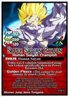 Titan Clash Super Saiyan Gohan by Tyrranux