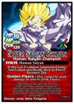 Titan Clash Super Saiyan Gohan