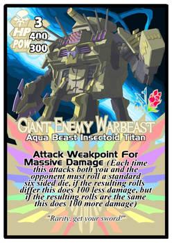 Titan Clash Giant Enemy Warbeast