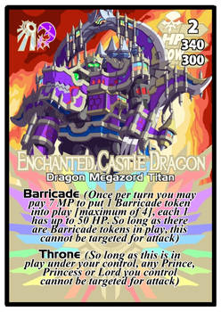 Titan Clash Enchanted Castle Dragon