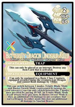 Titan Clash Butterfly Dragon Dinosaur Killer