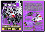 TRANSFORMERS - Decepticon Megatron