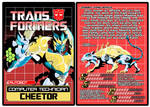 TRANSFORMERS - Autobot Cheetor