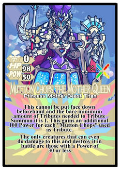 Titan Clash Mutton Chops the Mother Queen
