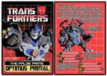 TRANSFORMERS - Autobot Optimus Primal