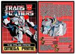 TRANSFORMERS - Autobot Omega Prime