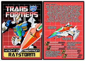 TRANSFORMERS - Cybertronian Raystorm