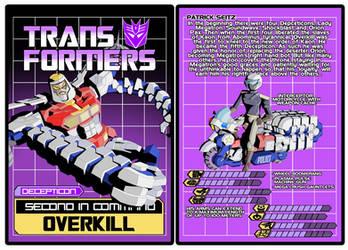 TRANSFORMERS - Decepticon Overkill