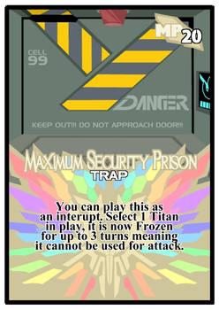 Titan Clash Maximum Security Prison