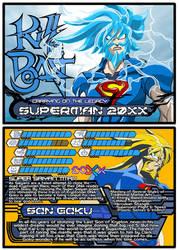 Fan Fiction Fuel Trading Cards - Superman 20XX