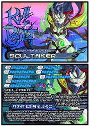 Fan Fiction Fuel Trading Cards - Soultaker