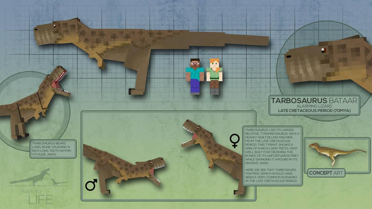 Back To Life // Tarbosaurus bataar