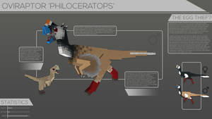 Back To Life // Oviraptor philoceratops
