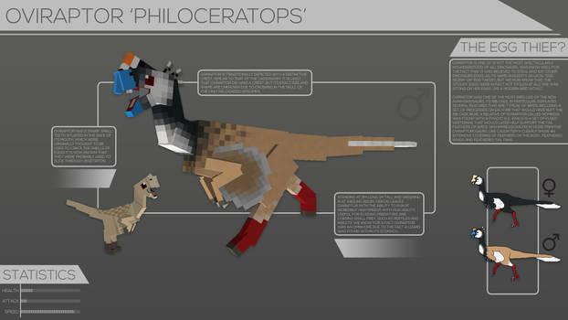 Back To Life // Oviraptor philoceratops