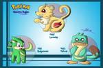 Pokemon: Maeorra Starters