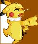 Pikachu Sprite by Gem-n-Ems