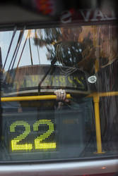 Tram by zakomisoshiru