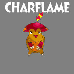 Fake Pokemon - Charflame by bamtorchic