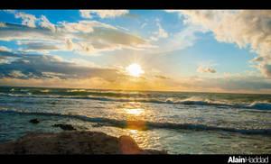 Amchit Sunset 3 by alanove