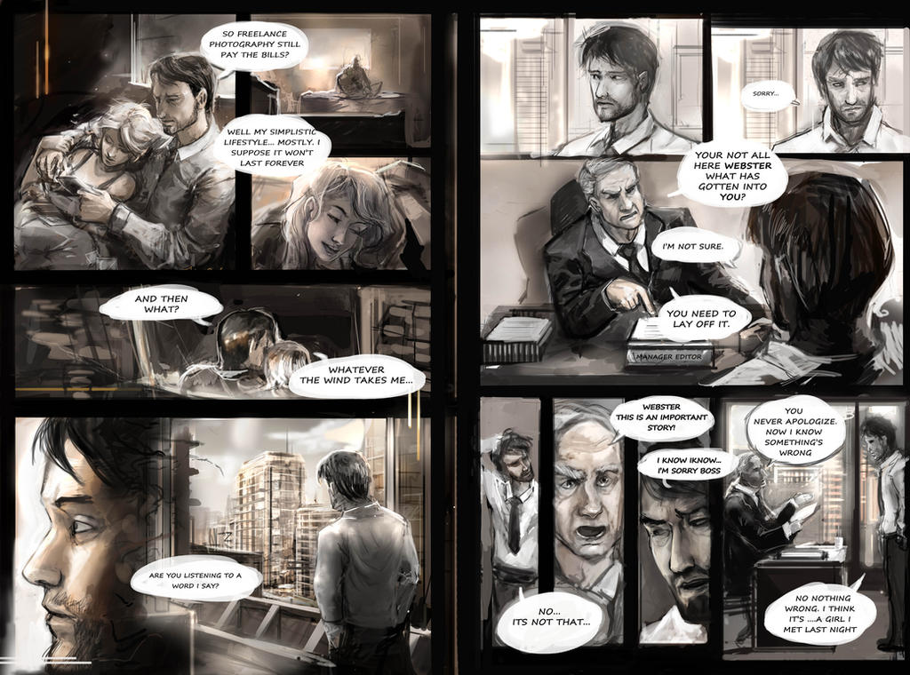 Sneak peek at upcoming comic : Out of Frame by Travis-Anderson