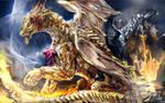 Metal dragons commission
