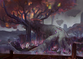 Mysthea: The great tree by Travis-Anderson