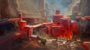 Old Volfyrion: crystal city