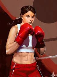 Maysketchaday Day 2: Boxer