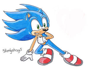 Sonic - painted by me