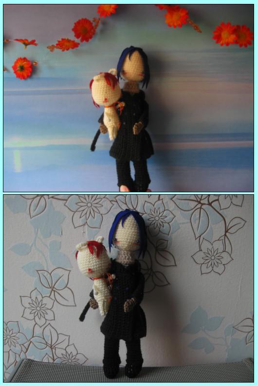 Gift: Yoite and little Demon by Yuki87