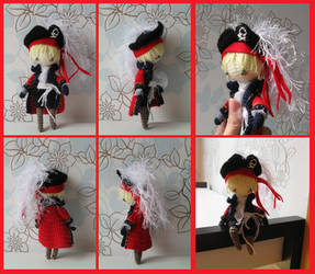 Commission: Arthur Kirkland as a pirate by Yuki87