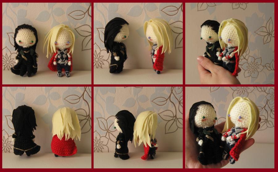 Thor with Loki by Yuki87