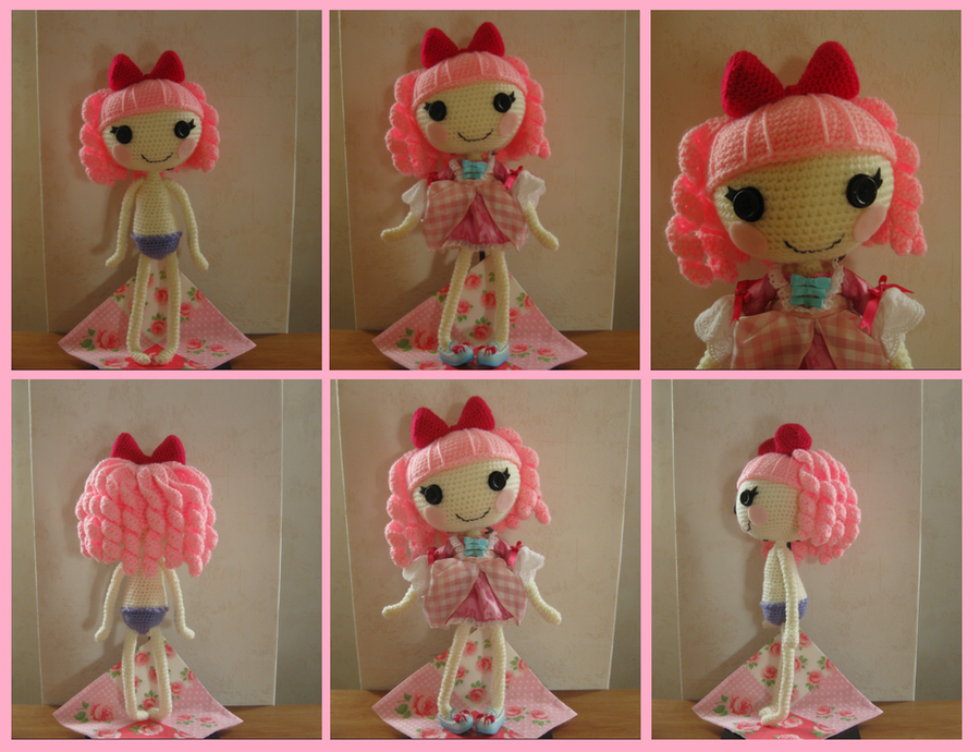 Amigurumi Lalaloopsy Free Pattern : Crocheted lalaloopsy by yuki on deviantart