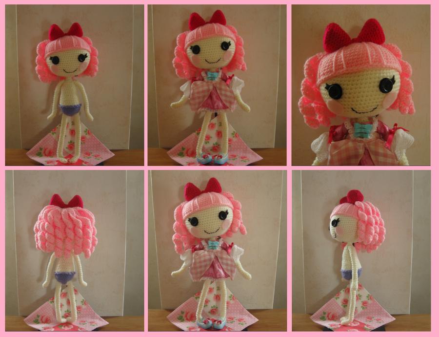 Amigurumi Doll Lalaloopsy Pattern : Crocheted lalaloopsy by yuki on deviantart