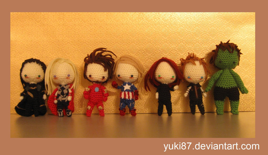 The Avengers complete by Yuki87