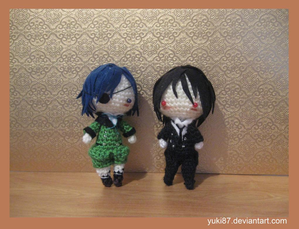 Commission: Ciel and Sebastian by Yuki87
