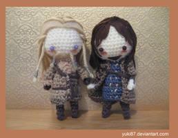 Fili and Kili by Yuki87