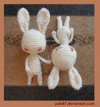 ArtTrade: 2x Mini Bunnies