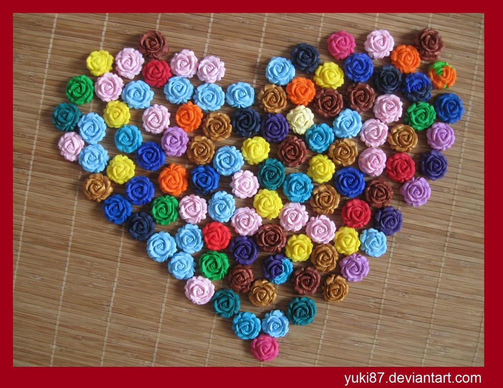 Clay Roses by Yuki87