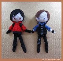 commission: Ada and Leon